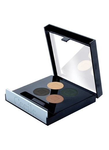 Matte Quatro Eyeshadow   (4'Lu Far)   802-Cecile